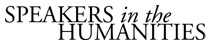 Speakers in the Humanities logo